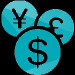 US Domain Center接受世界各地的货币支付